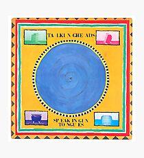 Talking Heads In Zungen sprechen Fotodruck
