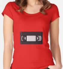 Retro - VHS Women's Fitted Scoop T-Shirt