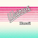 Waimea, Hawaii | Surf Stripes by retroready