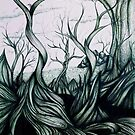 Twisted surreal landscape by Extreme-Fantasy