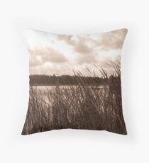 Clouds roll in... Throw Pillow