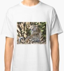 THE LEOPARD - Panthera pardus - Luiperd Classic T-Shirt