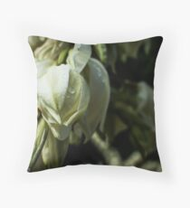 Winery Flowers Throw Pillow