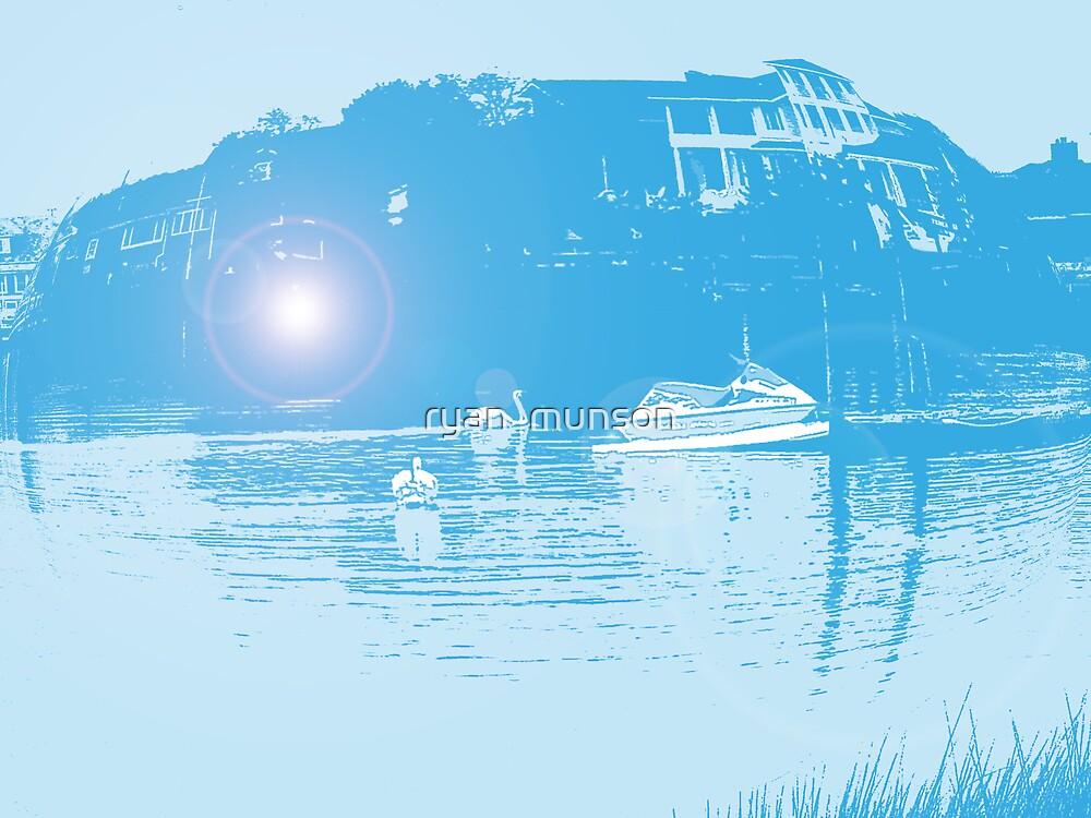 blue river by ryan  munson