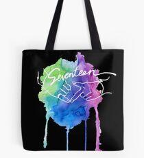 Seventeen Watercolor Tote Bag