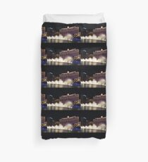 Midnight Dance - Silky Bellagio Fountains at Night Duvet Cover