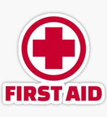 First Aid: Stickers | Redbubble