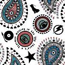 Paisley Glam by BigFatArts