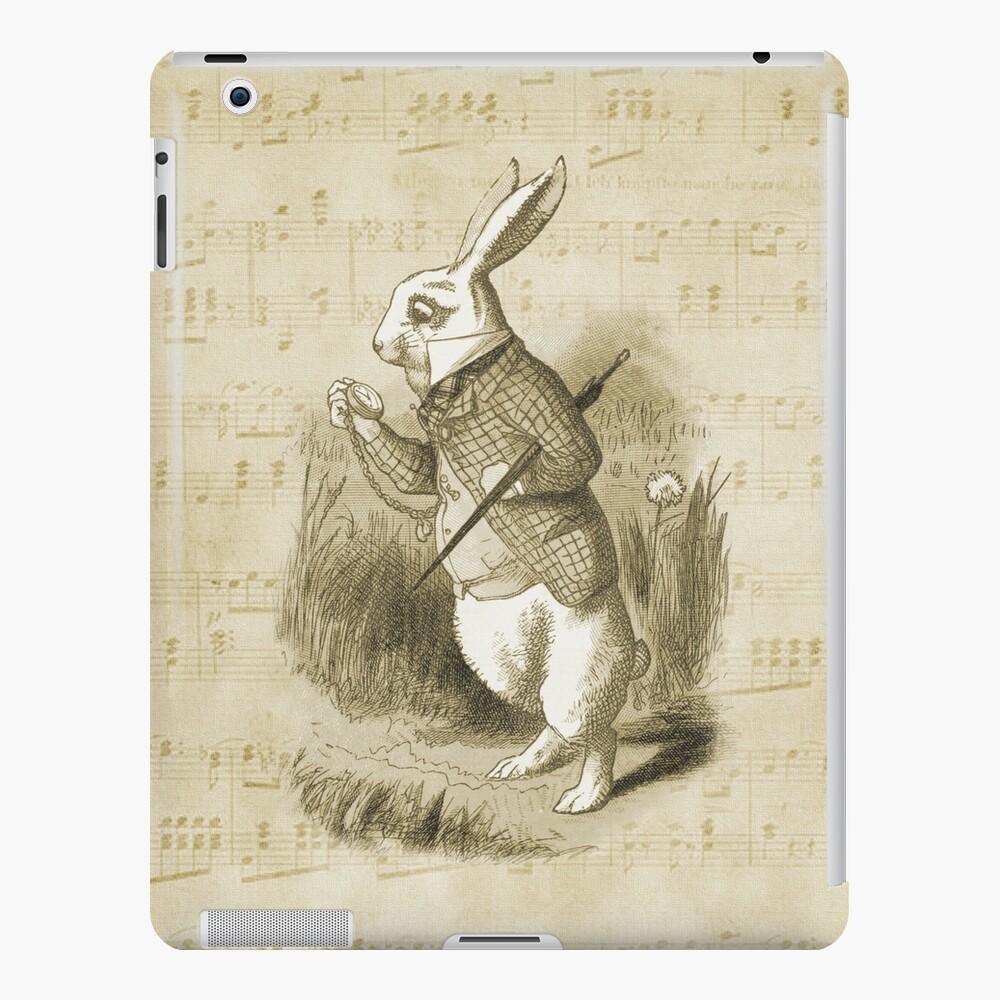 Conejo blanco - Alicia en el país de las maravillas Funda y vinilo para iPad