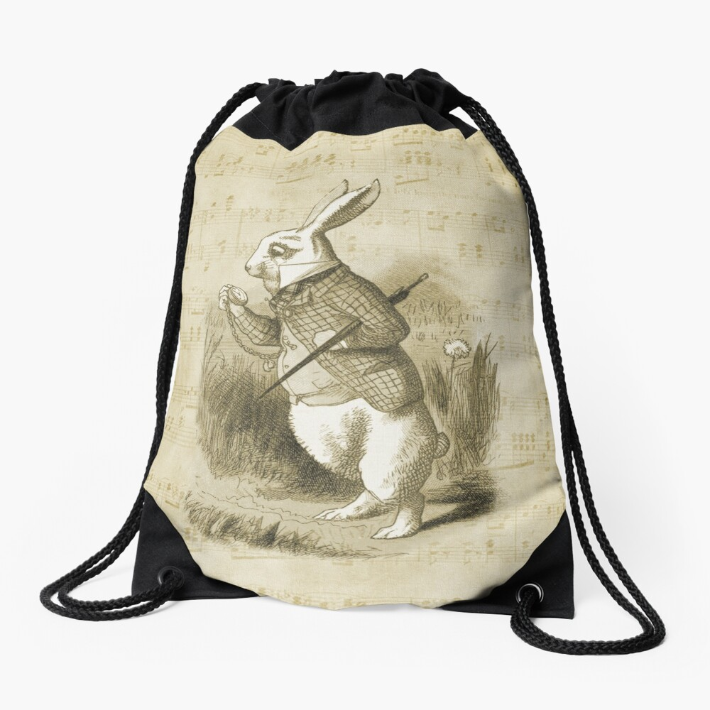 Conejo blanco - Alicia en el país de las maravillas Mochila saco