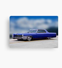 1966 Cadillac Custom Coupe deVille I Canvas Print