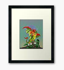 Peppers Dragon Framed Print
