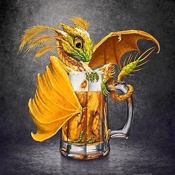 Beer Dragon by SMorrisonArt
