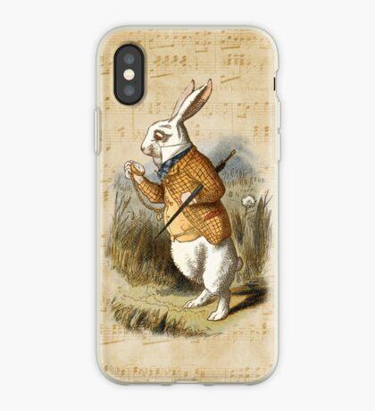 Conejo blanco - Alicia en el país de las maravillas Vinilo o funda para iPhone