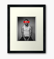 Blond Frank Framed Print