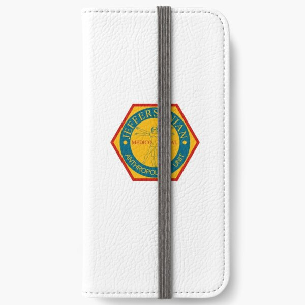 Jeffersonian Logo- Bones TV Show iPhone Wallet