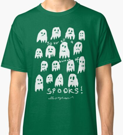 'Bunch of Spooks' Classic T-Shirt