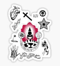 Tattoo B Sticker