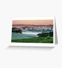 Morning Mist - Nairne Greeting Card