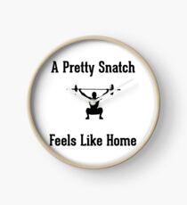 A Pretty Snatch Feels Like Home - Olympic Weightlifting Clock