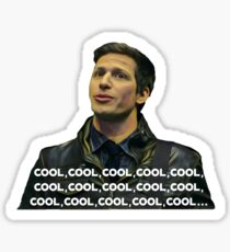 Jake Peralta - Cool, cool, cool, cool...  Sticker