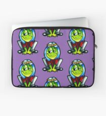 the frog Prince 00 Laptop Sleeve