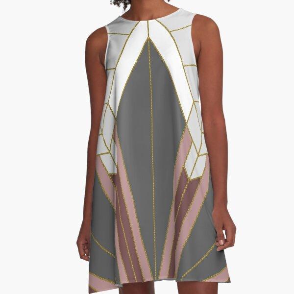 ART DECO G1 A-Line Dress