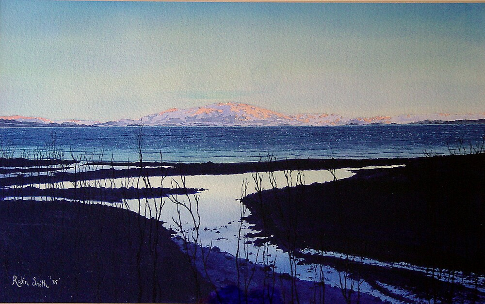 Sunset on Benmore by Robin Smith