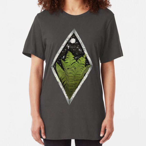 Ferns and the Moon Slim Fit T-Shirt