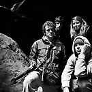 Group in cave by MagnusAgren