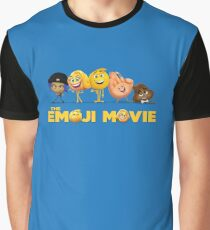 Emoji Movie Graphic T-Shirt