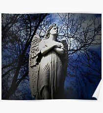 Poem by Sally Omar - Angel, Cross my Heart Poster