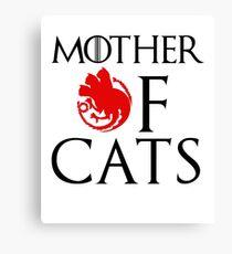 Mother of Cats - House Catgaryen Canvas Print