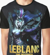 League of Legends LEBLANC - [The Deceiver] Graphic T-Shirt