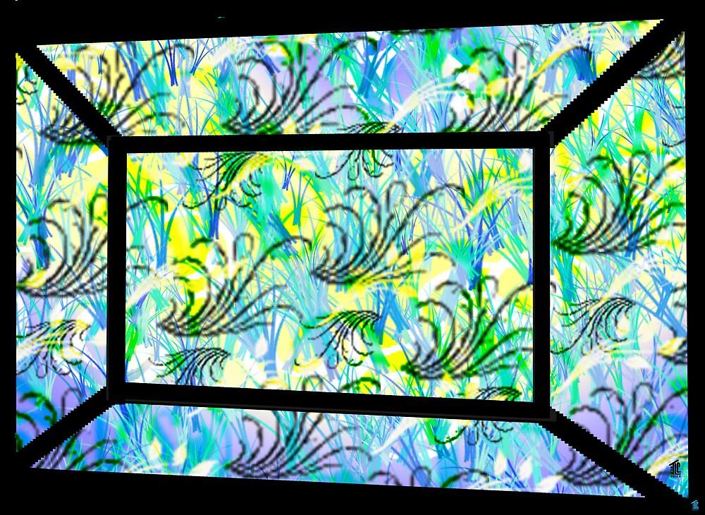 Through a Garden Window II by TLCGraphics