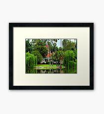 Fantasy Island Framed Print