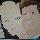 """"""" Happy Birthday Mr President """" – JFK & Marilyn by Sunil"""