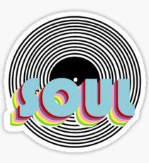 SOUL Record Sticker