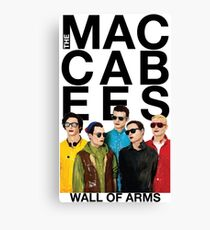 The Maccabees - wall of arms Canvas Print