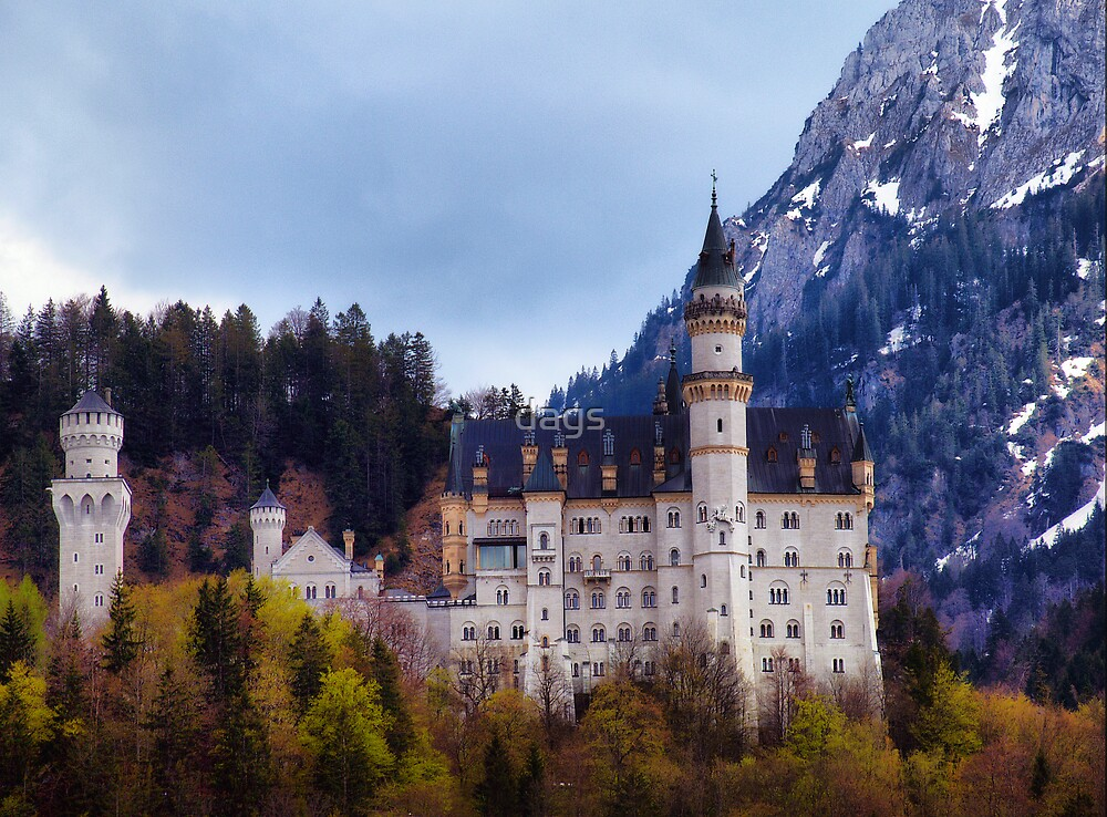 Neuschwanstein Castle by dags