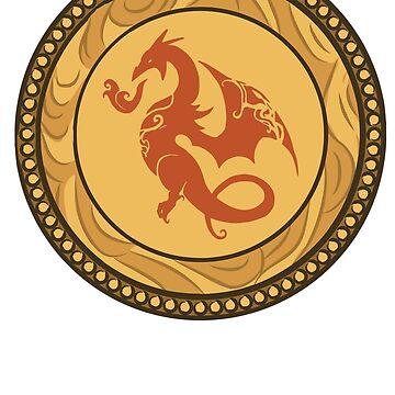 House Vartok Medallion - Simple by RaptagonStudios