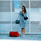 red bag by Claudio Pepper