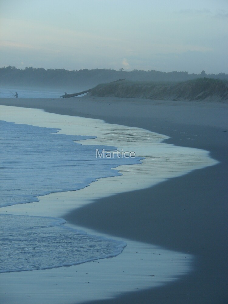 Soft Blue Sand by Martice