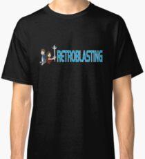RetroBlasting Logo Dark Classic T-Shirt