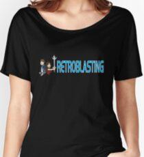 RetroBlasting Logo Dark Women's Relaxed Fit T-Shirt