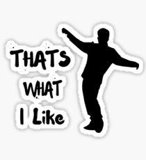that's what i like bruno mars - Pop music Sticker