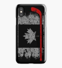 Hockey T shirt - CANADA iPhone Case/Skin