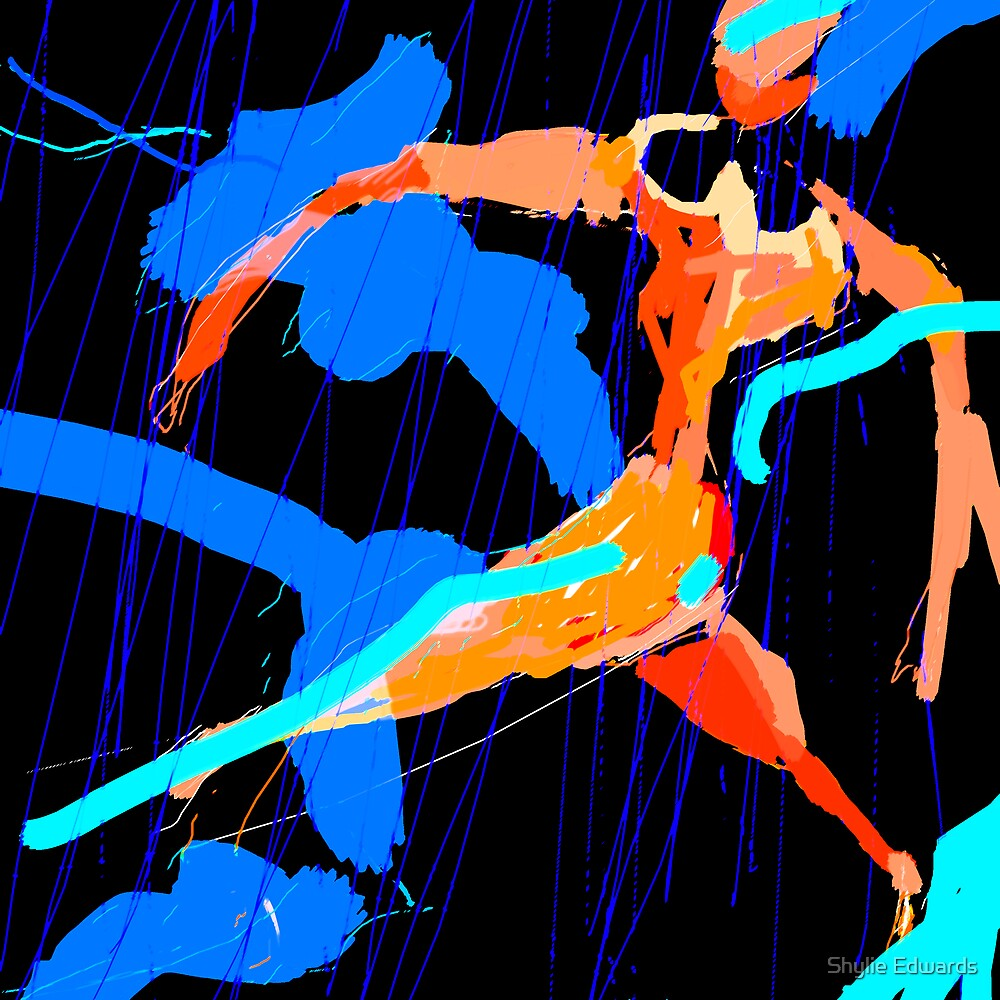 dancing in the rain by Shylie Edwards
