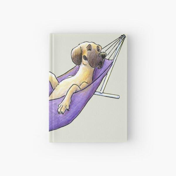 Summer Dog: Great Dane in a Hammock Hardcover Journal
