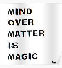 Mind Over Matter - Frank Ocean Poster